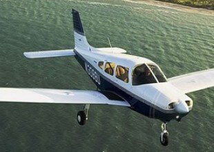Piper Warrior used for pilot training