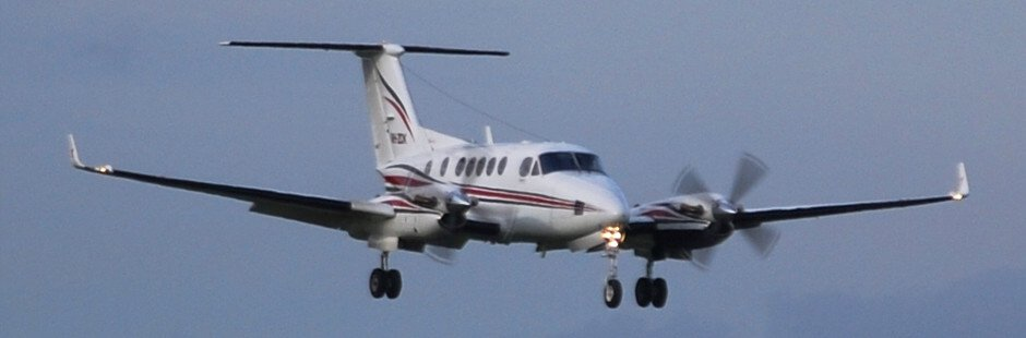 Private Charter flights King Air