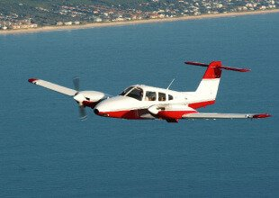PA44 aircraft for pilot training