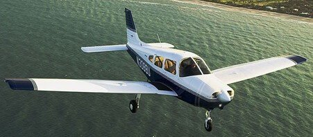 Piper Warrior in our fleet for pilot training