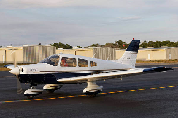 Piper PA-44 in our fleet for pilot training