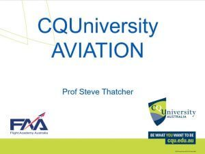 Download FAA / CQUniversity Aviation Degrees Presentation