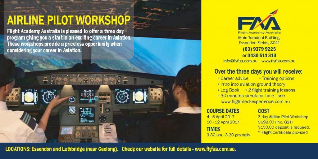 Student Pilot Workshop April 2017 details