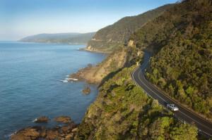 Over Great Ocean Road